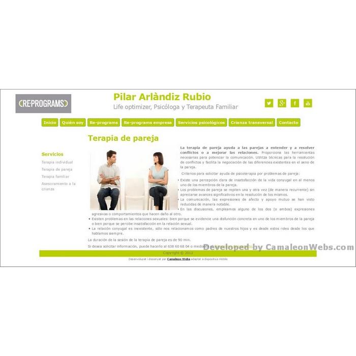 Pàgina terapia-de-pareja_servicios-psicologicos: pilararlandiz-com - projecte web de Camaleon Webs
