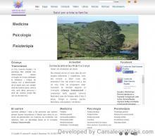 Pàgina inici: centredesalutgemmabaulies-com - projecte web de Camaleon Webs